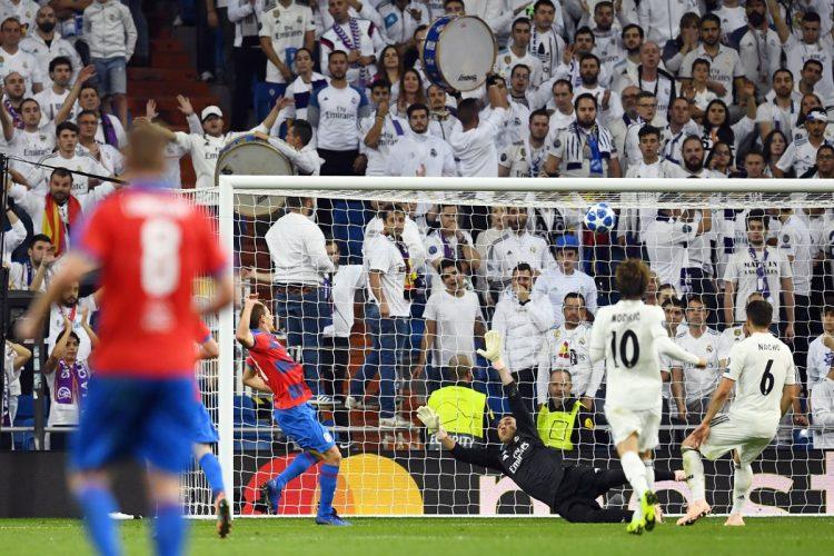 Keylor Navas salvo al Real Madrid en varias ocasiones.