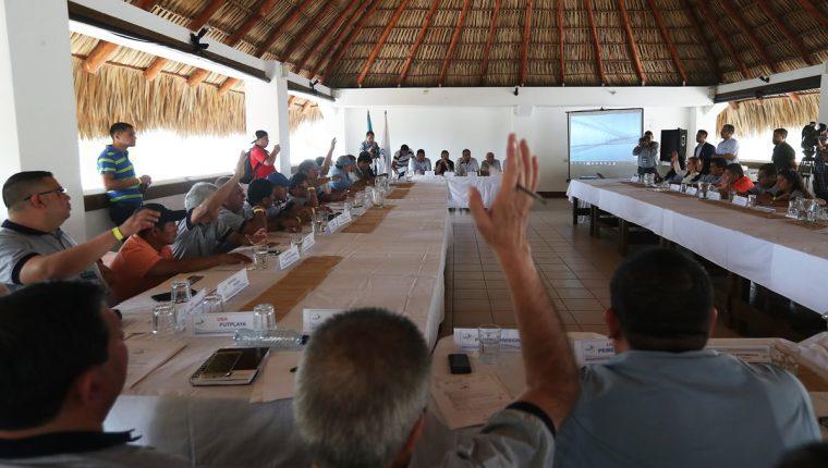 La Asamblea del Futbol se reunió el pasado 10 de febrero. (Foto Prensa Libre: Francisco Sánchez)