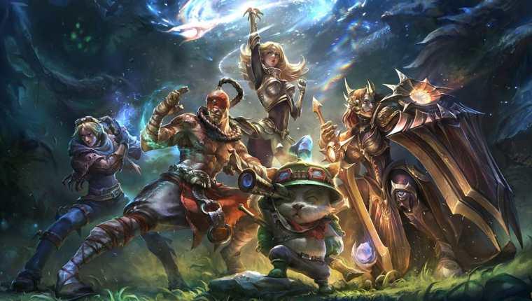 El juego es bastante popular en América del Norte, Europa y Asia. Foto Prensa Libre: League of Legends.