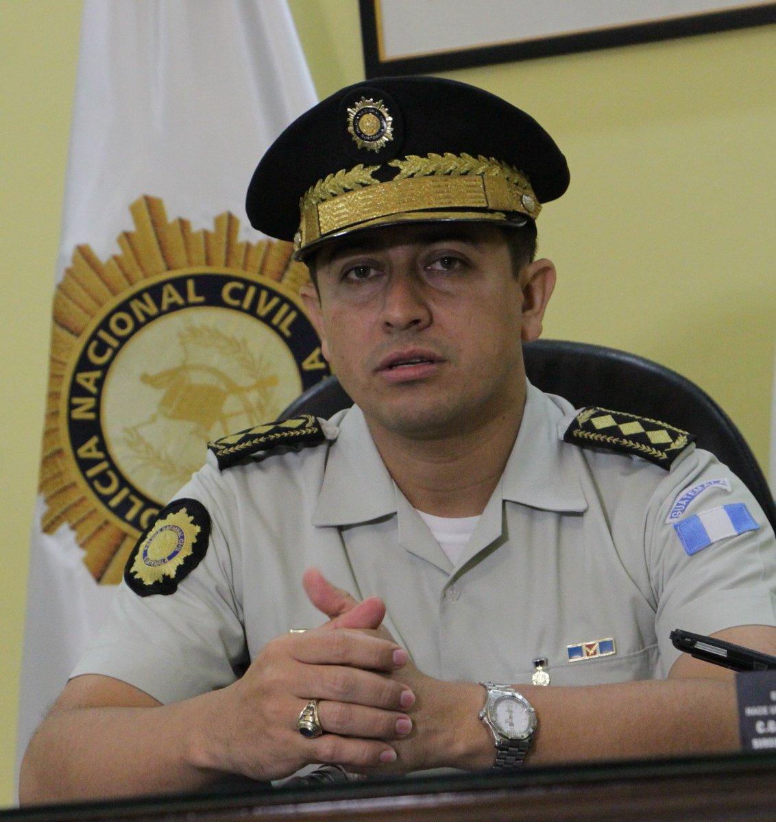 Nery Ramos, fue director de la PNC y buscaba ser candidato a diputado por el distrito de Jutiapa. (Foto Prensa Libre: Hemeroteca PL)
