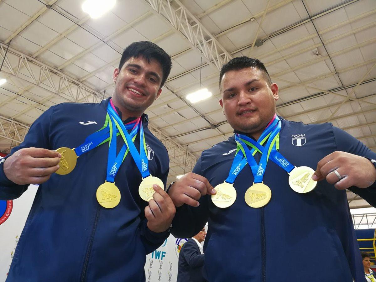 ¡Seis oros! Guatemala cierra a lo grande las competencias de pesas en Managua