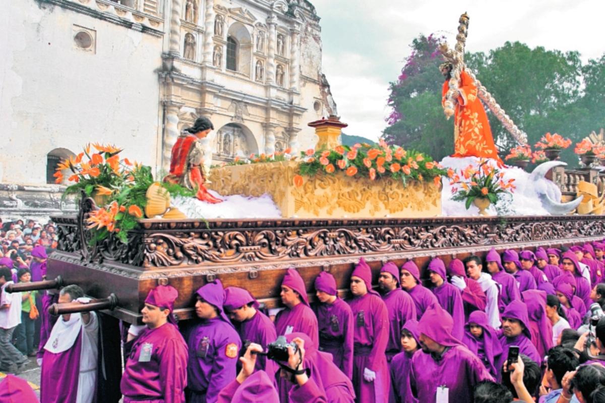 Antigua es el centro de la religiosidad guatemalteca