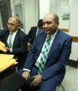 El diputado de la UNE, Orlando Blanco, compareció en el Juzgado Tercero Penal, por la acusación de financiamiento electoral ilícito. (Foto Prensa Libre: Esbin García)