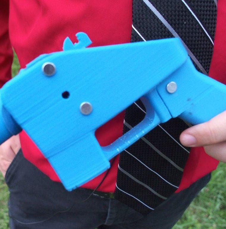 La pistola Liberator es el primer arma que puede fabricarse completamente con piezas de una impresora 3D y archivos de diseño asistido por computadora descargados de Internet. (AFP)