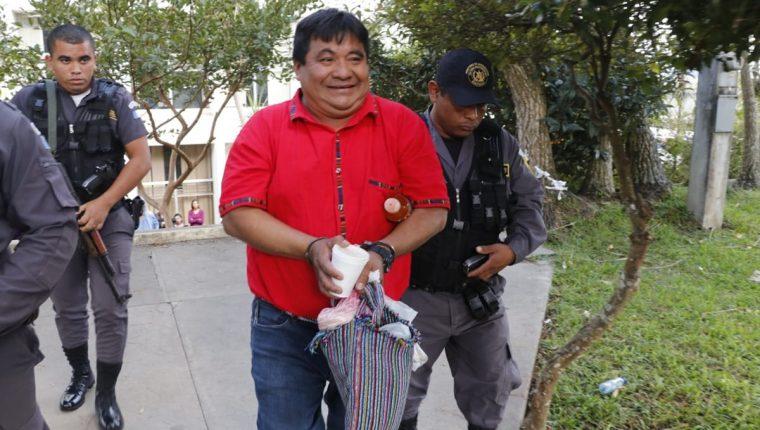 Bernardo Caal califica la sentencia como una injusticia. (Foto Prensa Libre: Auri Andersen)