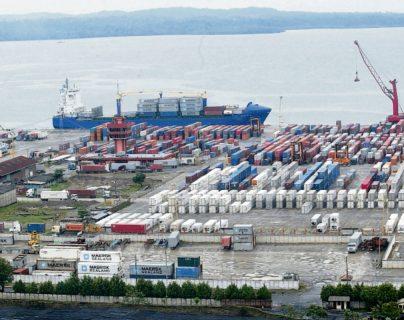 Gestores aduanales señalan atraso en la entrega de mercancías en el Puerto Santo Tomás de Castilla. (Foto Prensa Libre: Hemeroteca)