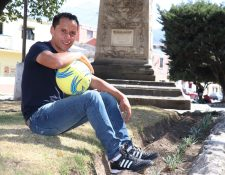 Julio Estacuy luce con nuevos brillos en Xelajú MC, equipo en el que ha jugado 536 minutos en el actual torneo. (Foto Prensa Libre: Raúl Juárez)