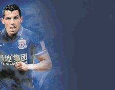 Carlos Tevez llegó en la presente temporada al futbol de China. (Foto Prensa Libre: Hemeroteca PL)