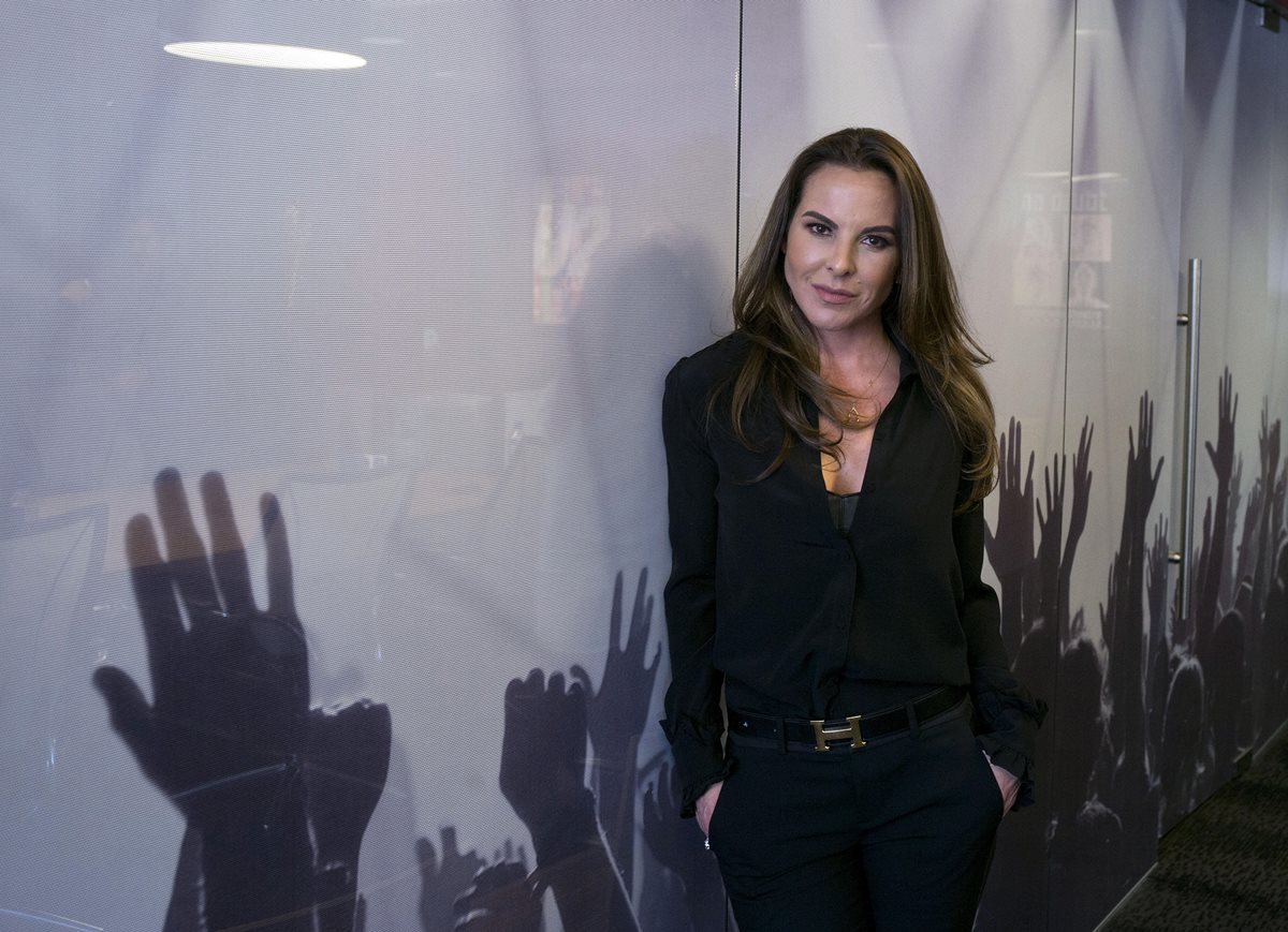 Kate del Castillo publicó una imagen para la revista Playboy (Foto Prensa Libre: EFE).