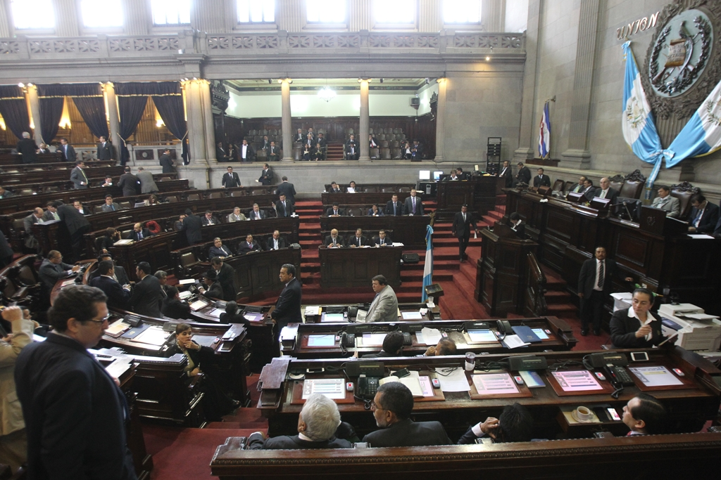 Los gustos de los diputados han sido pagados con fondos públicos. (Foto Prensa Libre: Hemeroteca PL)