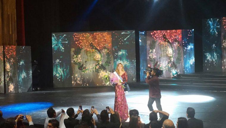 Mariana García, ganadora del certamen Miss Universe Guatemala 2018. (Foto Prensa Libre: Facebook / Mariana García)