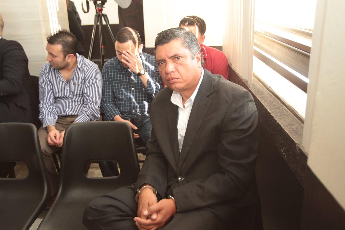 Gustavo Martínez, fue ligado a proceso el año pasado por su vinculación en le caso Redes. (Foto Prensa Libre: Hemeroteca PL)