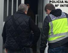 En operativo policial capturaron a cuatro personas que llevaban a guatemaltecos a trabajar a España. (Foto Prensa Libre: Policía Nacional de España)