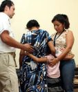 Los menores rescatados son entregados a sus padres luego de evaluaciones especializadas. (Foto Prensa Libre: Hemeroteca PL)