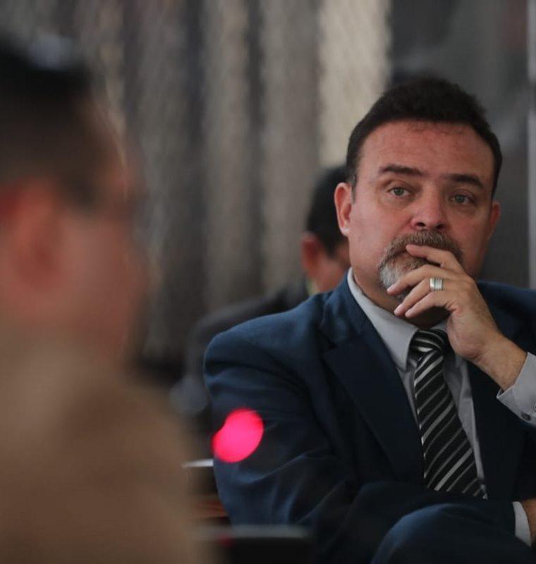 Edgar Josué Camargo Liere, fue Director del Sistema Penitenciario. (Foto Prensa Libre: Erick Avila)