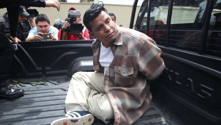 Presunto agresor sexual fue capturado en una residencia en la colonia Las Victorias, zona 14. (Foto Prensa Libre: Érick Ávila)