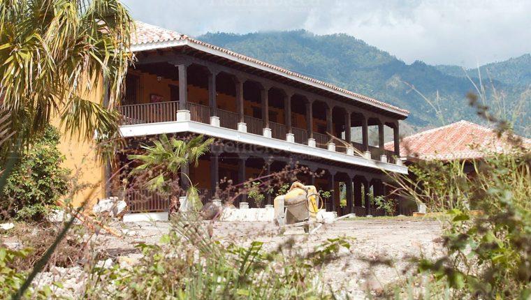 Mansión que el entonces presidente Alfonso Portillo construyó en 2003 en Santa Cruz Río Hondo, Zacapa. (Foto: Hemeroteca PL)