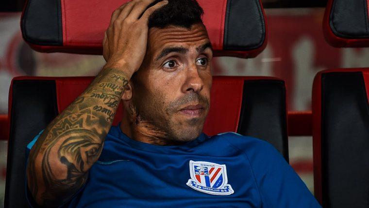 """""""El Apache"""" no ha sido el jugador determinante que esperaban en la Super Liga China. (Foto Prensa Libre: AFP)"""