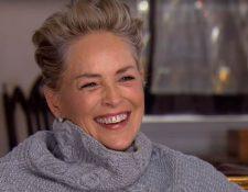 Stone mostró una reacción distinta sobre el tema del acoso sexual en Hollywood (Foto Prensa Libre: CBS).