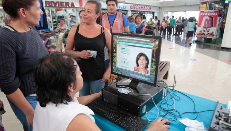 Empadronamiento en Guatemala. (Foto Prensa Libre: HemerotecaPL)