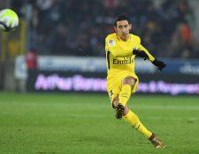 Ángel di María es uno de los argentinos de abandonaría la disciplina del París Saint Germain. (Foto Prensa Libre: AFP)