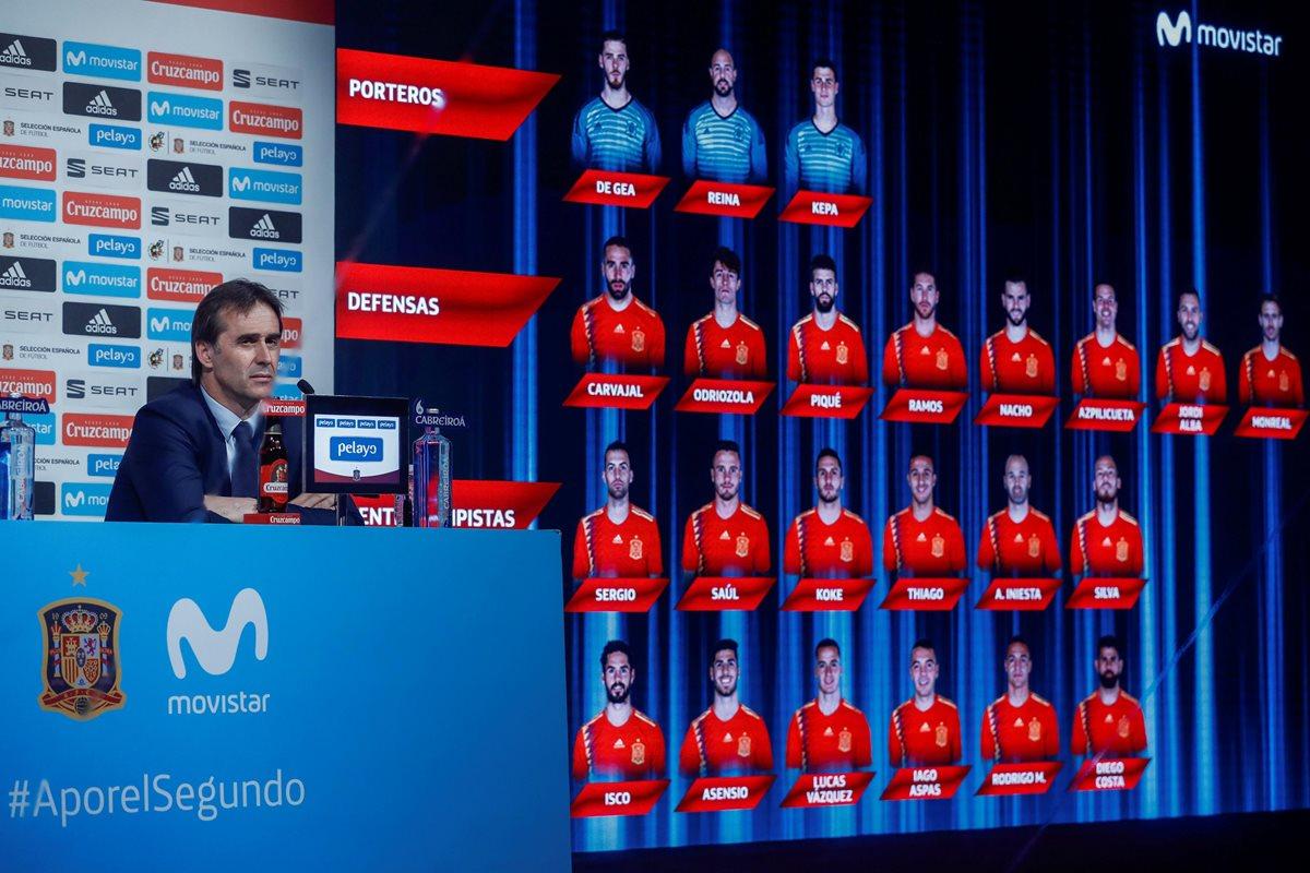 Álvaro Morata queda fuera de la lista de España para el Mundial de Rusia