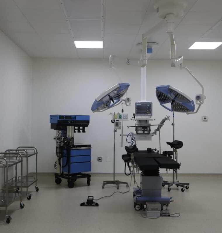 Una de las salas de cirugía del Hospital Nasir. (Foto Prensa Libre: Óscar Rivas).
