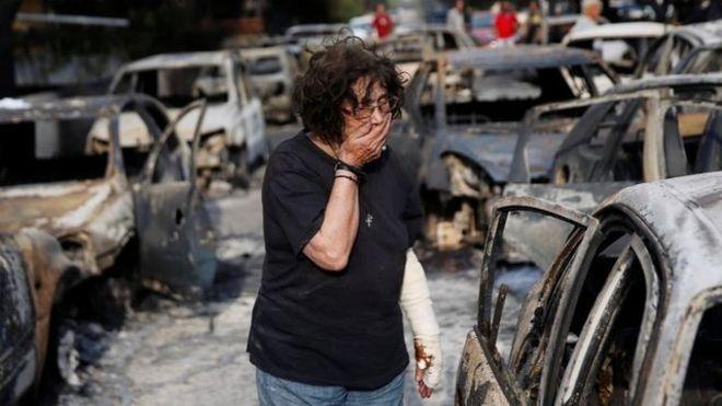 Los incendios han dejado imágenes de desolación. (Reuters)