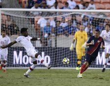 Canadá y Costa Rica empataron 1-1 en el partido del Grupo A de la Copa Oro disputado en Houston, Texas. (Foto Prensa Libre: AFP)