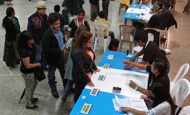 Las elecciones generales se efectuaron el 6 de septiembre de 2015. (Foto Prensa Libre: Hemeroteca PL)