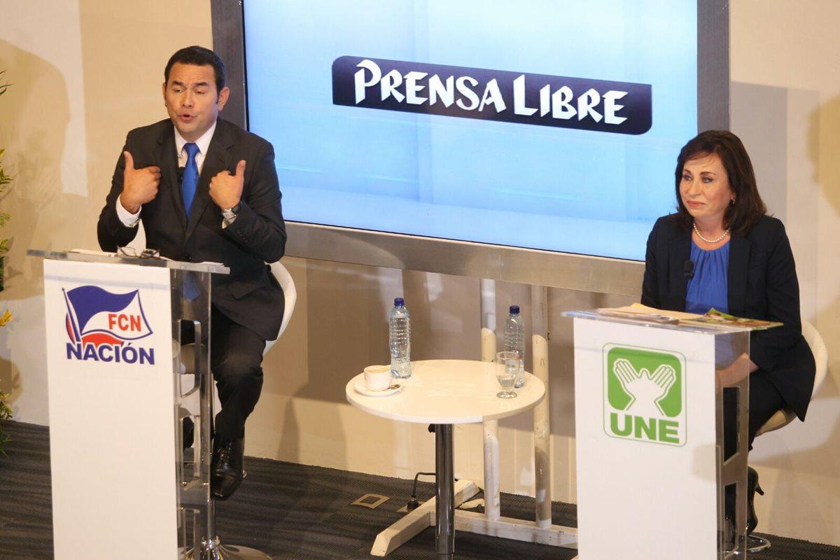 Candidatos exponen planes de gobierno en <em>Diálogo Libre</em>