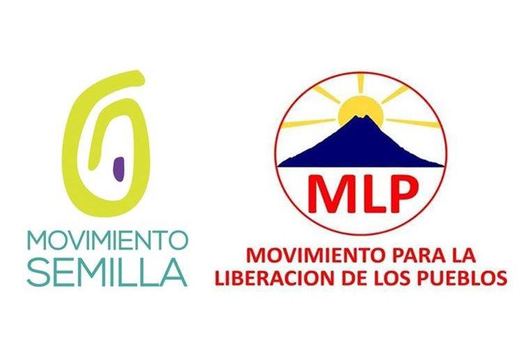 La UNE asegura que el logo del Movimiento Semilla tiene similitudes con el de Movimiento para la Liberación de los Pueblos.