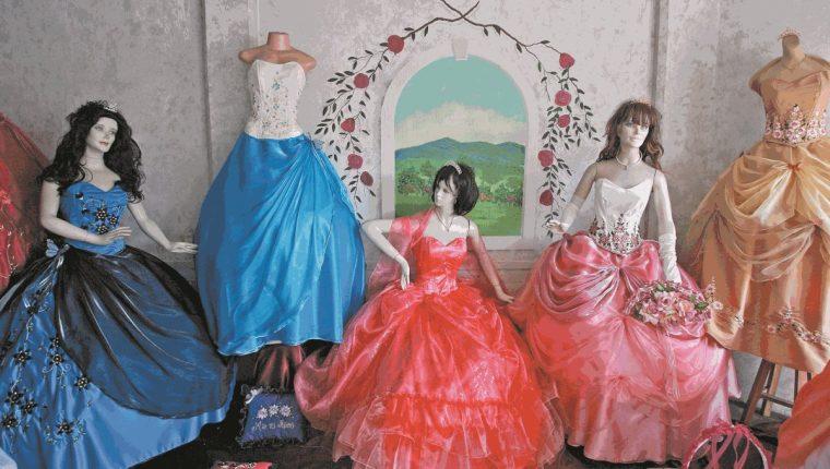 649890830 fiestasQuince añosSociedad. Diferentes diseños de vestidos para  quinceañeras. (Foto  Hemeroteca PL)