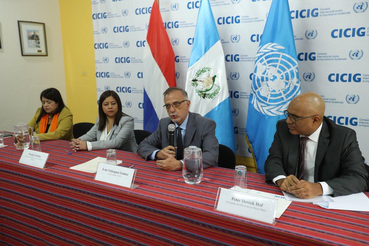 Países han aportado US$167 millones en 11 años para funcionamiento de Cicig