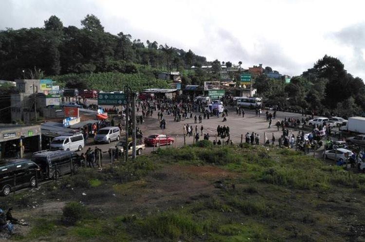 Codeca anunció que durante martes y miércoles realizará bloqueos en al menos 19 puntos carreteros del país. (Foto Prensa Libre: Hemeroteca PL)