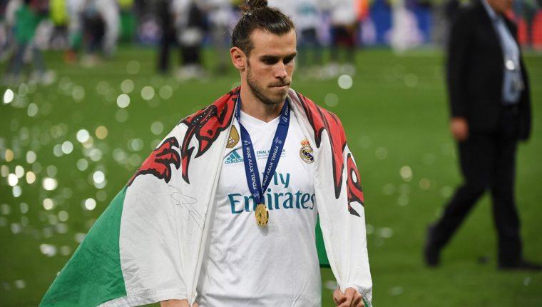 """""""El Expreso de Gales"""" podría salir del equipo merengue si no tiene cabida en el once titular de Zinedine Zidane. (Foto Prensa Libre: AFP)"""