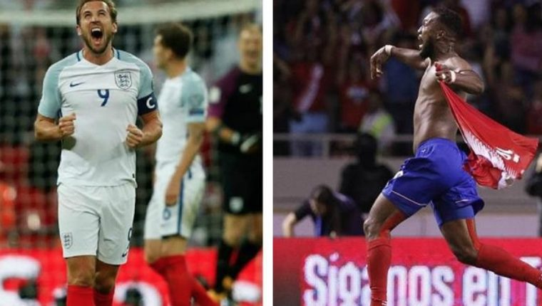 Inglaterra y Costa Rica se enfrentaron en el mundial de Brasil 2014 con resultado de 0-0. (Foto Prensa Libre: Hemeroteca PL)