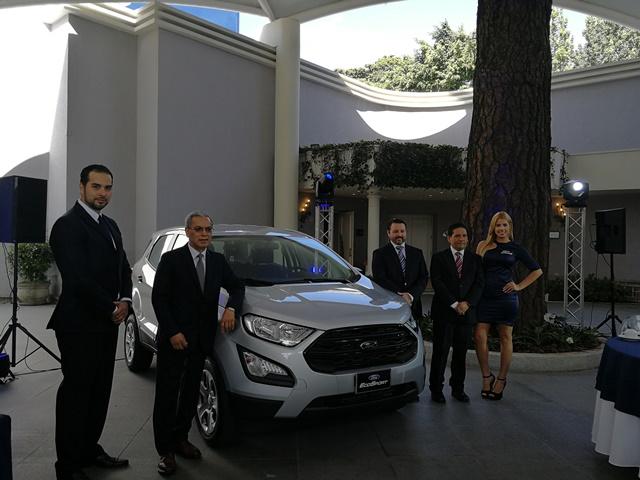La Ford EcoSport es presentada por Excel Automotriz