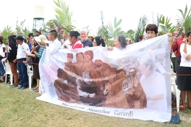 Los mártires fueron asesinados en Izabal y se mantuvieron en la fe, indicó el Obispo del Vicariato Apostólico de Izabal, monseñor Domingo Buezo Leiva.