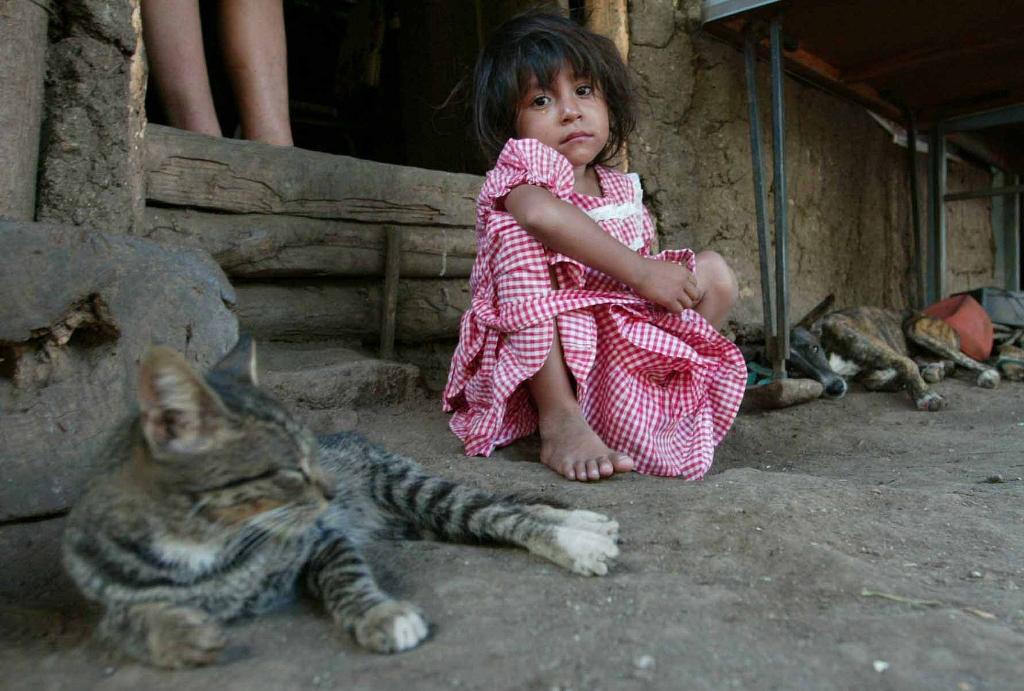 Problema fue mayor en los departamentos y afectó más a las niñas, según estudio de GAED. (Foto Prensa Libre: Hemeroteca PL)