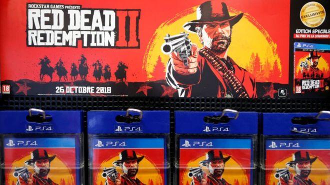 Red Dead Redemption 2 salió a la venta el 26 de octubre y ha hecho historia. GETTY IMAGES