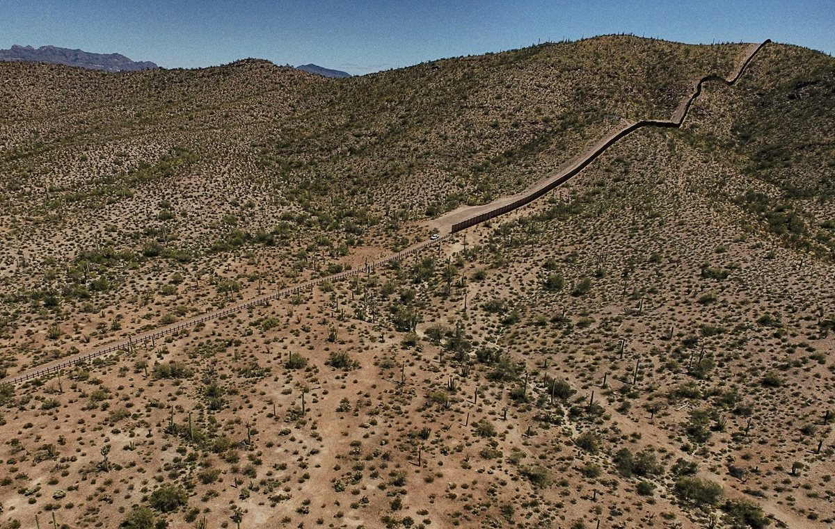Expertos exigen estudio minucioso del impacto ambiental del muro. (Foto Prensa Libre: AFP)