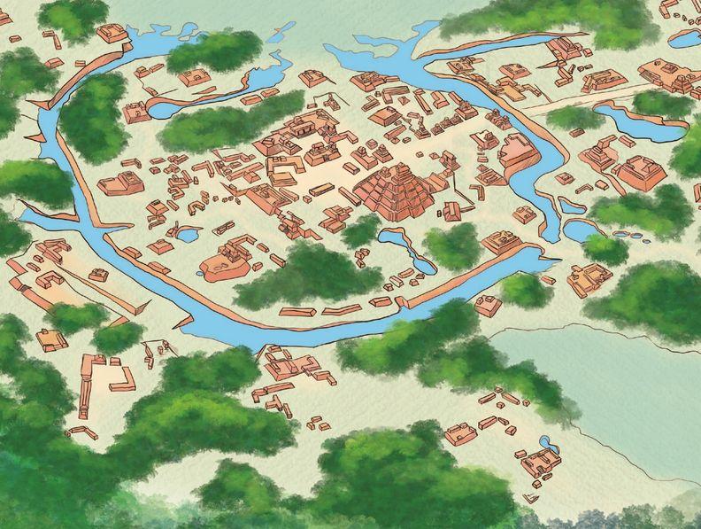 El Tintal, la ciudad preclásica de los canales.