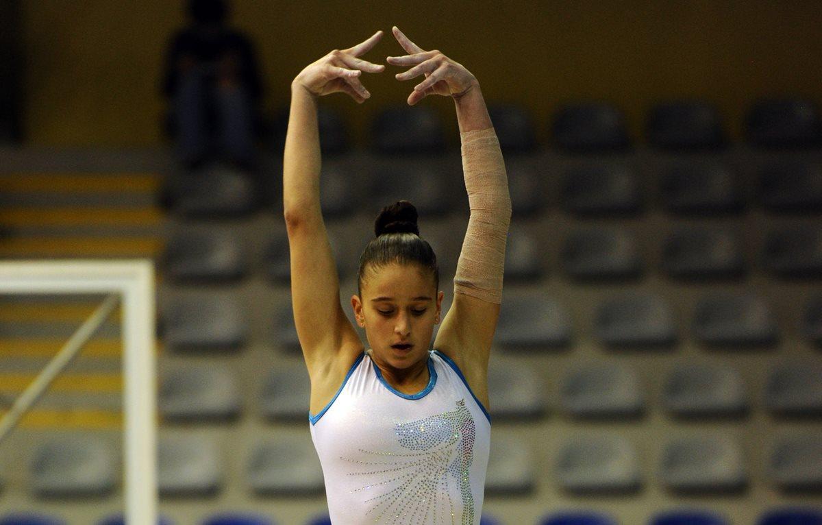 Bonifasi es parte del equipo femenino guatemalteco que representa al país en el Festival Deportivo Internacional.