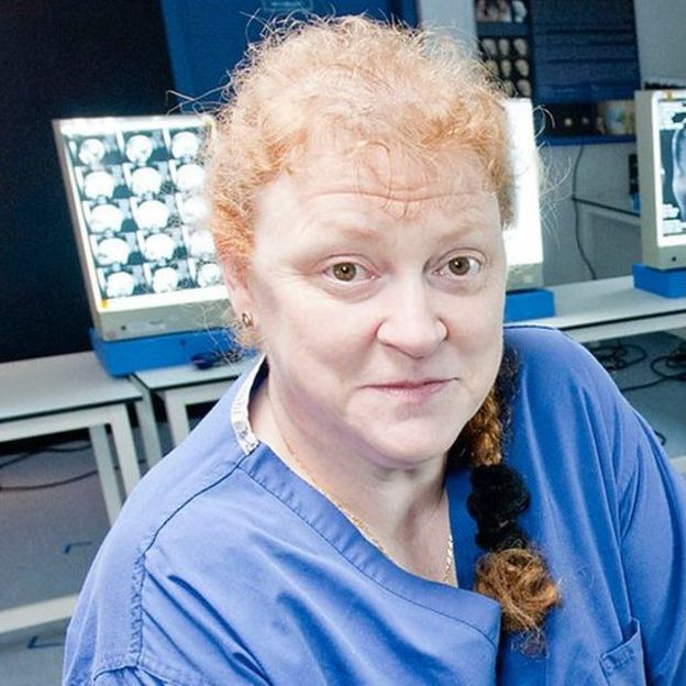 Sue Black de la Universidad de Dundee. SUE BLACK
