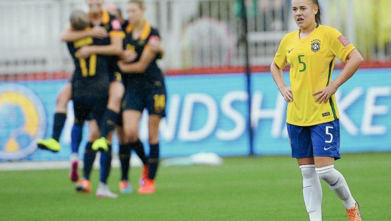 La selección de Brasil no logró brillar y quedó fuera. (Foto Prensa Libre: EFE)