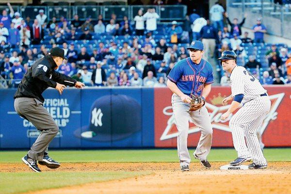 Mets ganan el segundo juego, mañana se disputa el último juego. (Foto Prensa Libre: AFP)