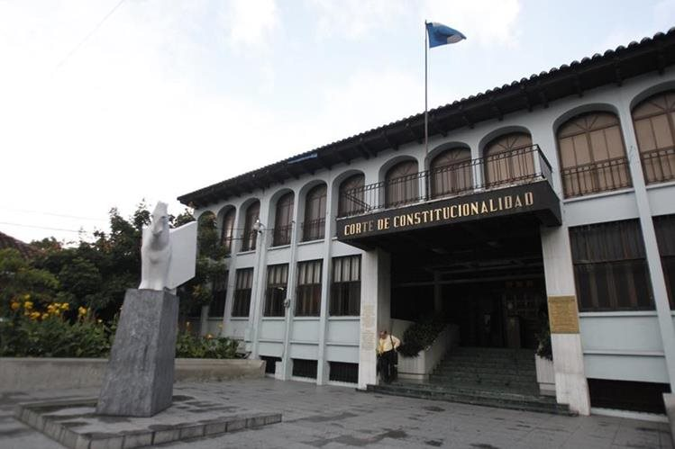La Corte de Constitucionalidad (CC) otorgó varios amparos que suspenden la terminación del convenio con la Cicig (Foto Prensa Libre: Hemeroteca PL)