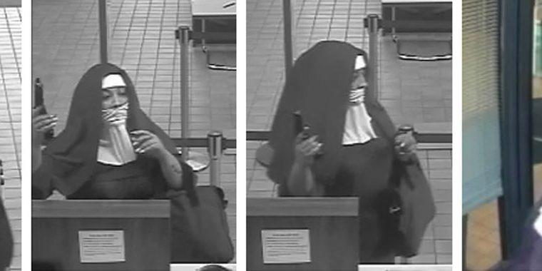 FBI busca a las mujeres que intentaron asaltar el banco. (Foto Prensa Libre: @FBIPhiladelphia)