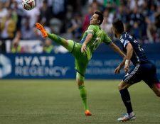 """El volante nacional, Marco Pablo Pappa es uno de los jugadores indiscutibles en el Sounders de Seattle. (Foto Prensa Libre: AP)<br _mce_bogus=""""1""""/>"""